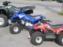 Multiple ATVs