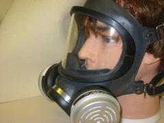 Full Mask Chemical Cartridge Respirator