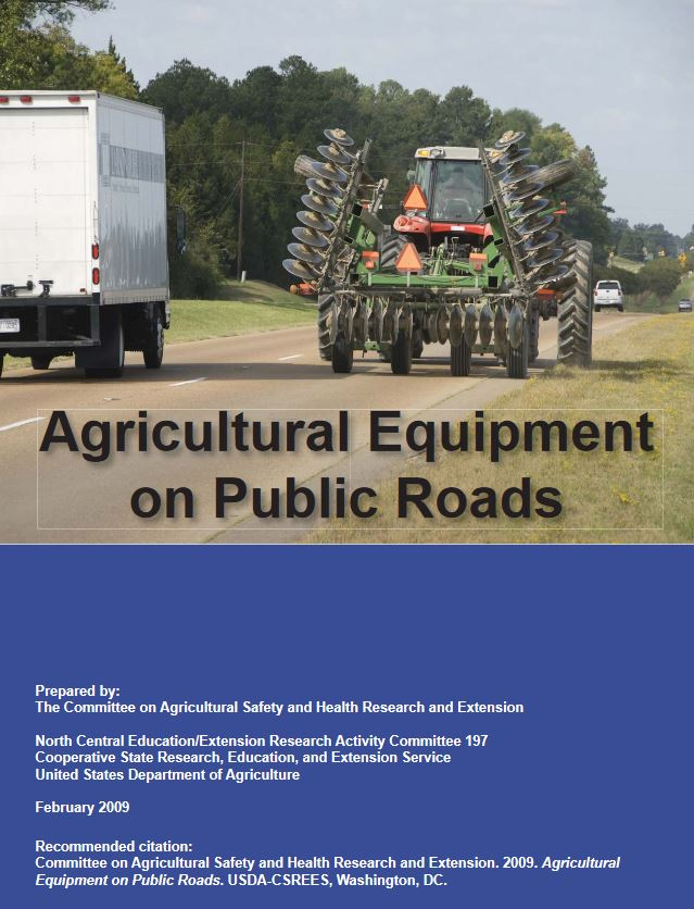 Ag Equip on Public Roads Publication Cover
