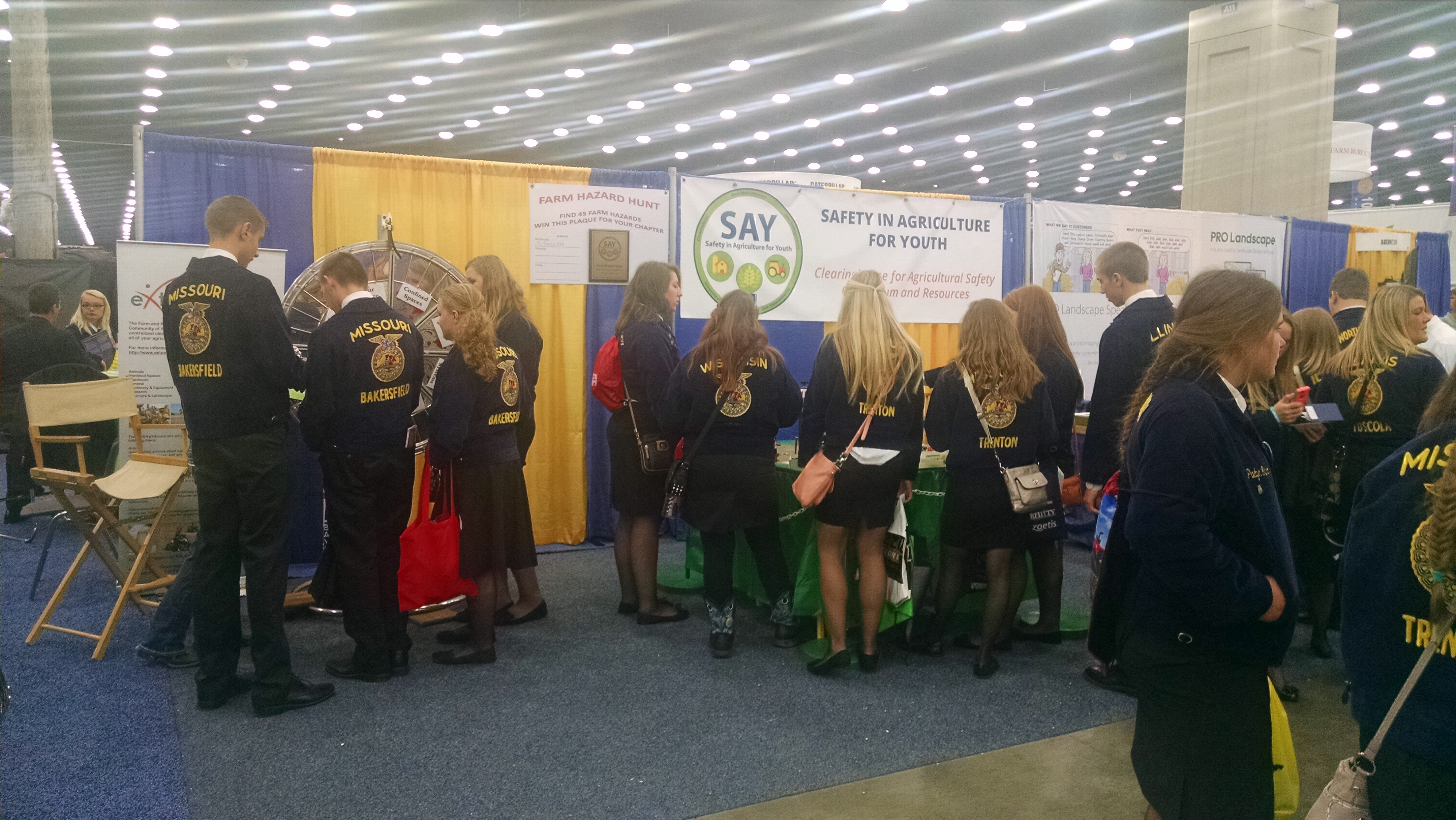 Ag safety at FFA Convention
