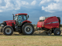 Puma 150 Tractor with RB565 Round Baler from Case IH Media Library